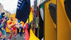 Minirig speakers at St Paul's Carnival, Bristol