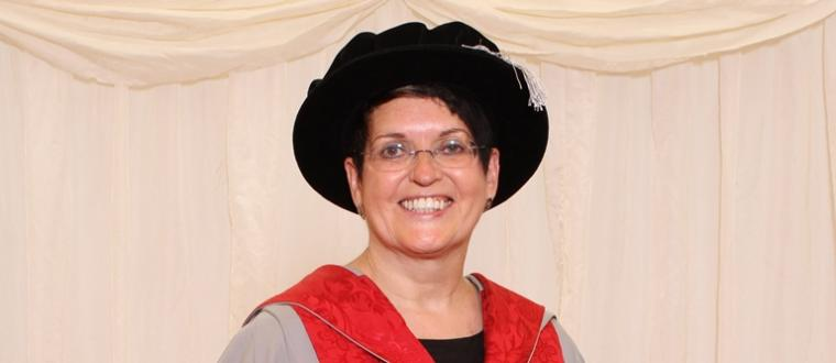 UWE Bristol awards an honorary degree to Penny Gane