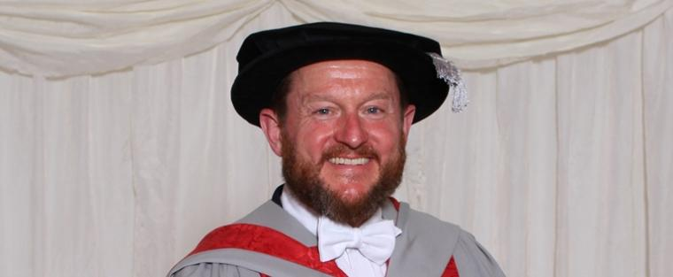 UWE Bristol awards an honorary degree to David Relph