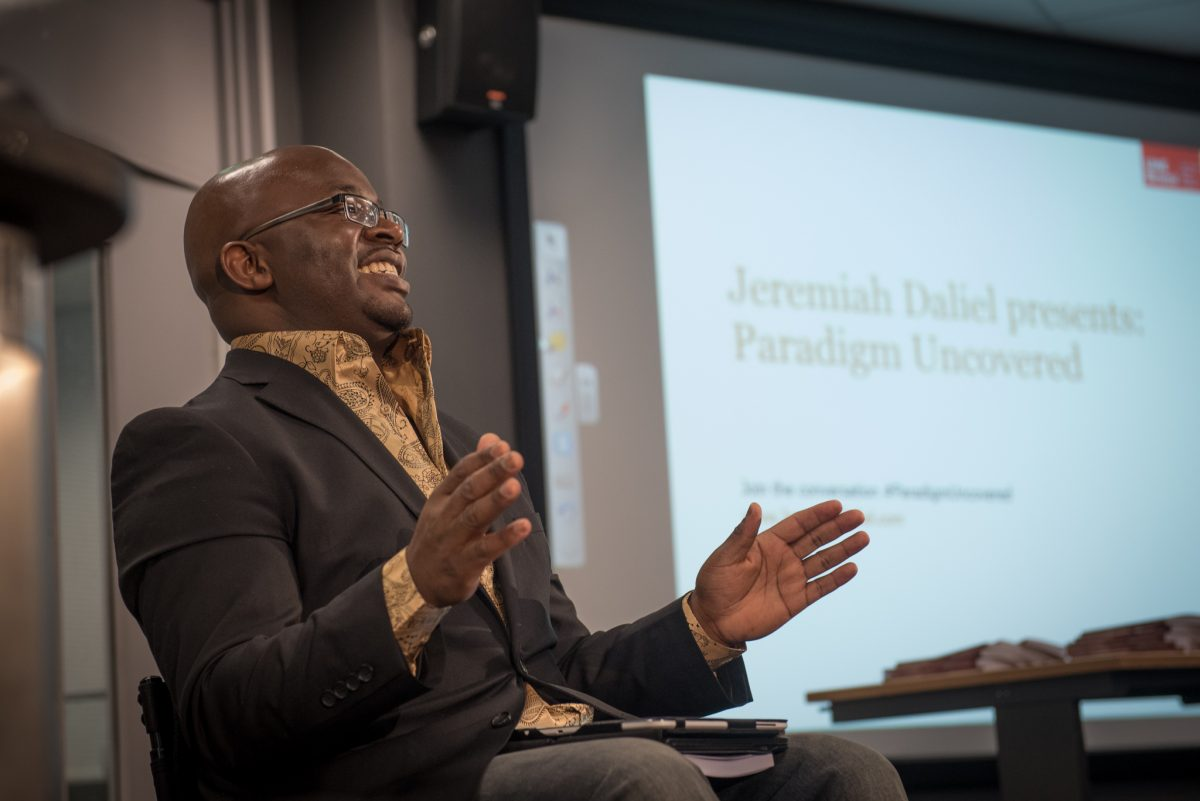 Bristol Business School and Bristol Law School helps celebrate alumnus Jeremiah Daliel's first book, inspired by his real life experiences