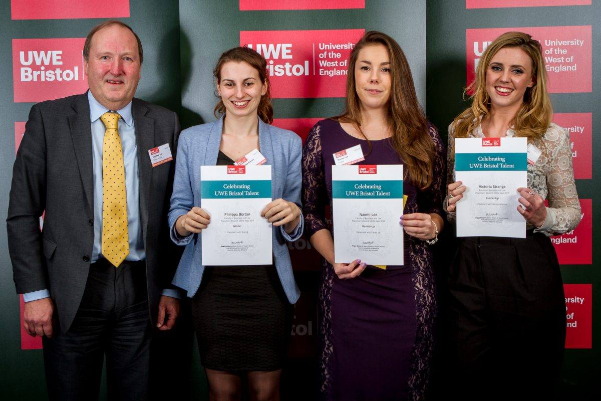 Bristol Business School and Bristol Law School Students win big at UWE Talent Awards