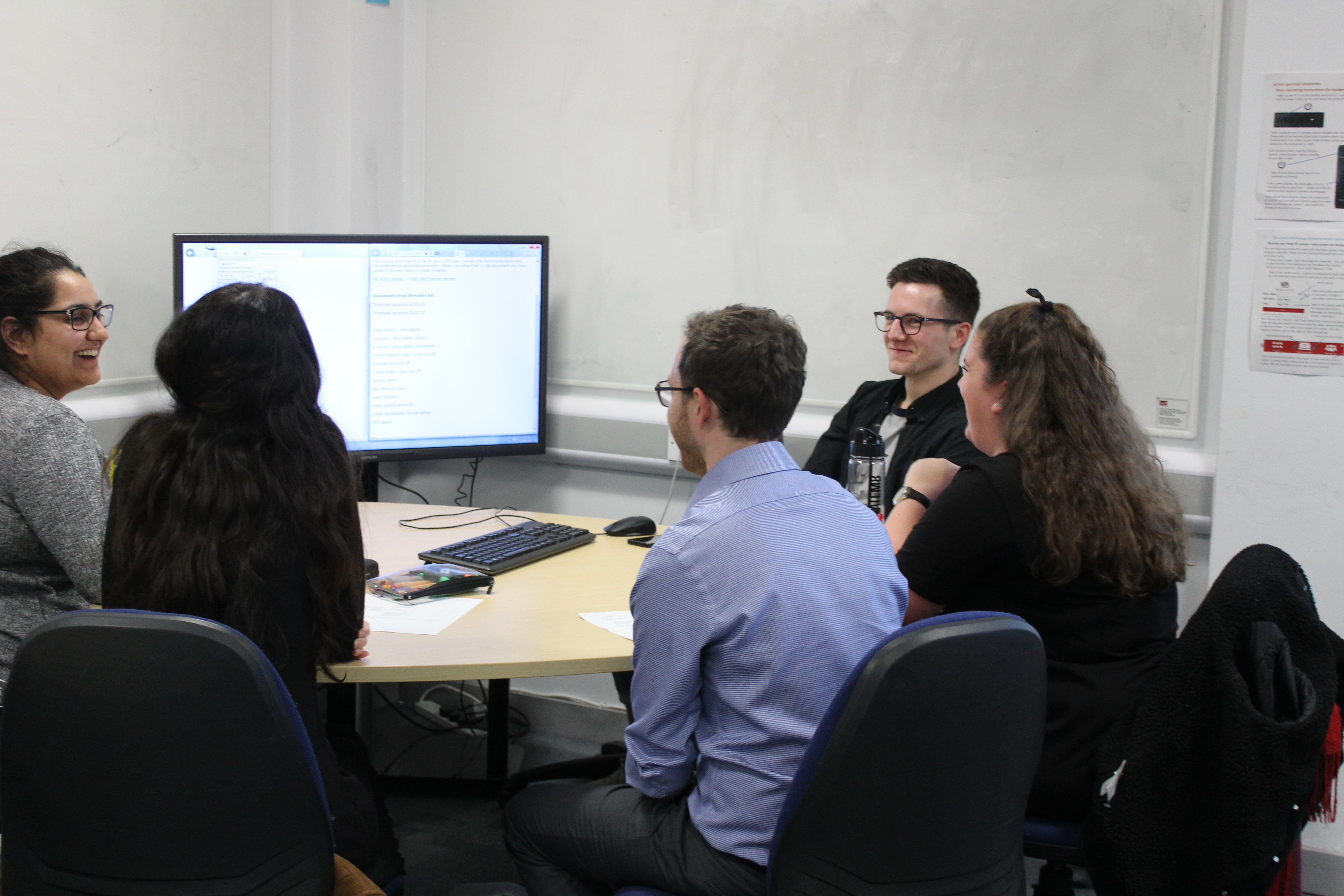 Grant Thornton, Chartered Accountants help final year students with their online audit simulations