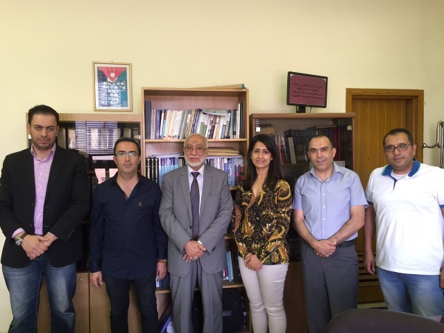 Zainab Kahn's Visit to Amman Jordan