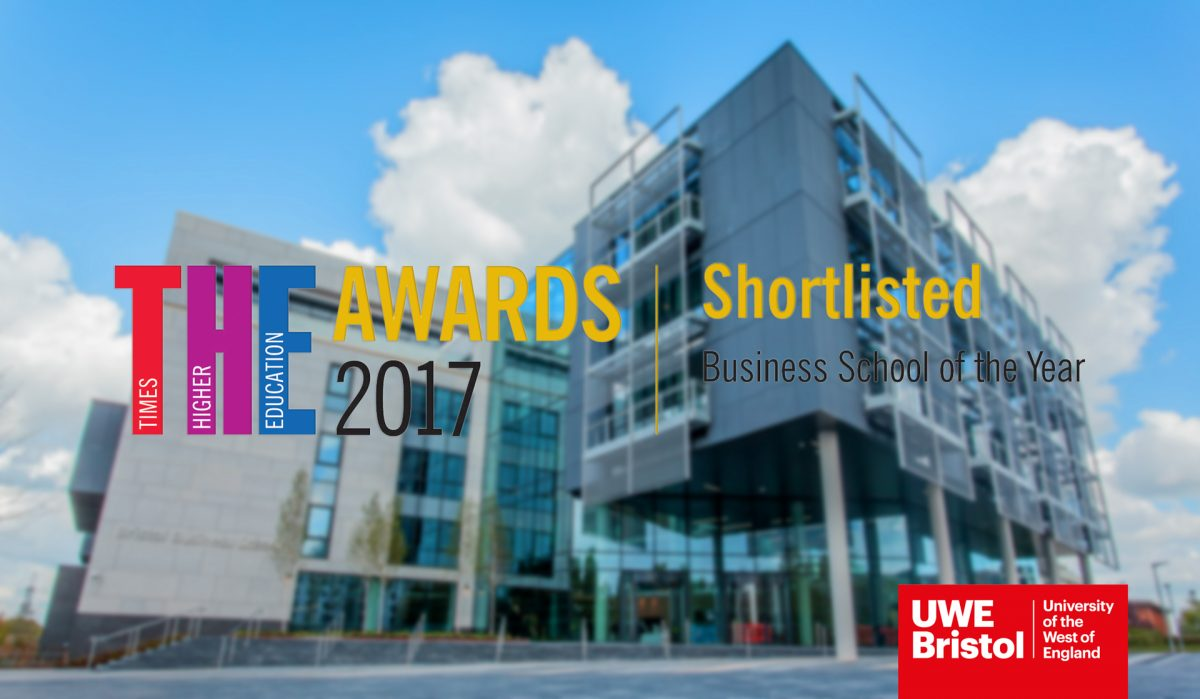 Bristol Business School shortlisted for Business School of the Year