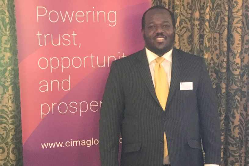 Professor Lukumon Oyedele gives Keynote Speech at CIMA Regional Conference