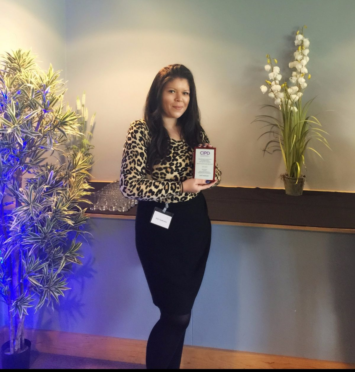 Bristol Business School student named CIPD West of England Branch Student of the Year