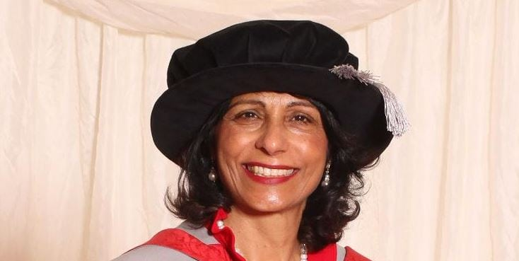 Honorary degree awarded to Kalpna Woolf