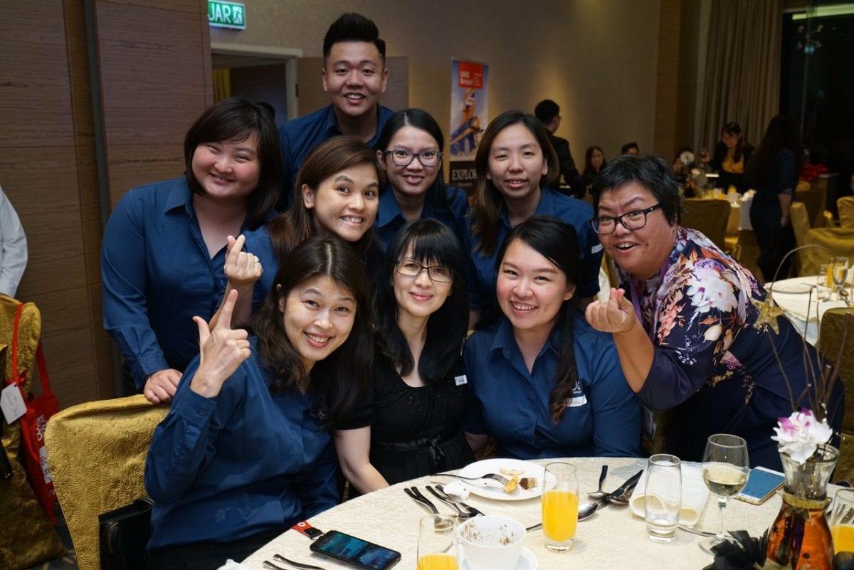 Global network celebration dinner in Kuala Lumpur