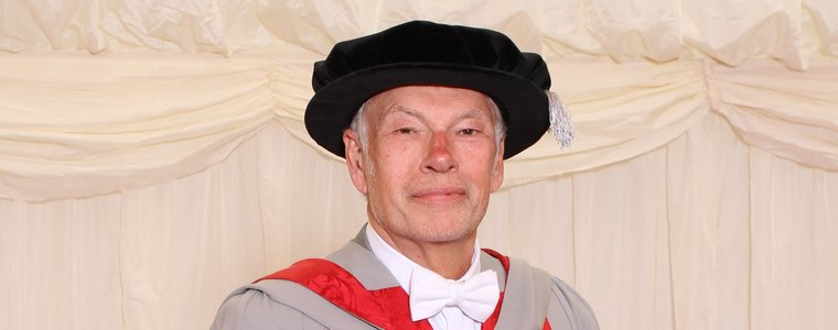 UWE Bristol awards an honorary degree to Lord Michael Bichard