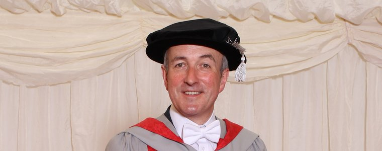 UWE Bristol awards an honorary degree to Robert Bourns
