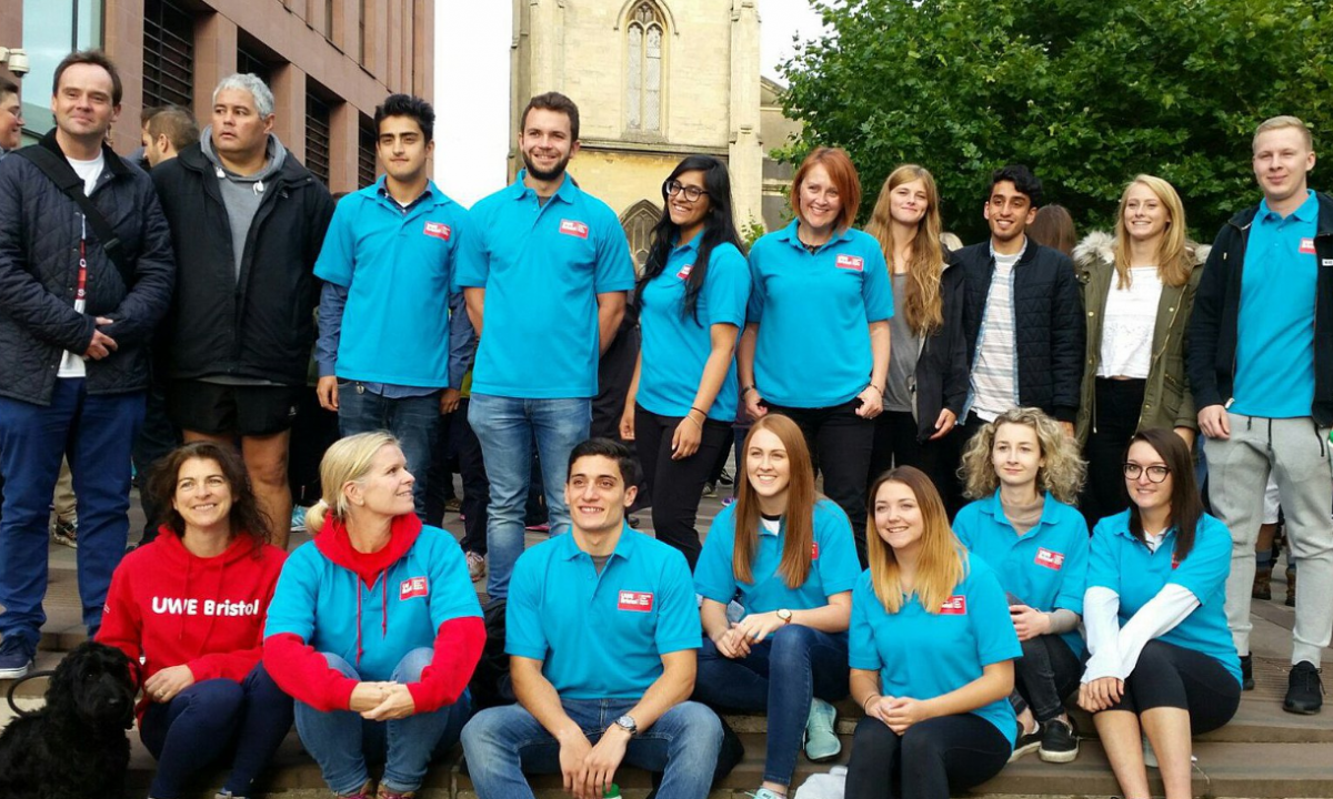 Bristol Law School students take part in The Bristol Legal Walk and help raise over £10k for local advice centres