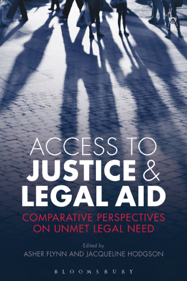 Professor Ed Cape and Dr Tom Smith get chapter published in Access to Justice and Legal Aid book