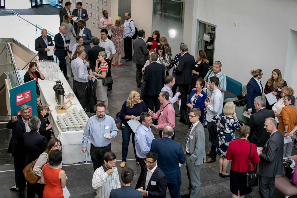 Bristol Business School and Bristol Law School host alumni networking event in their new building