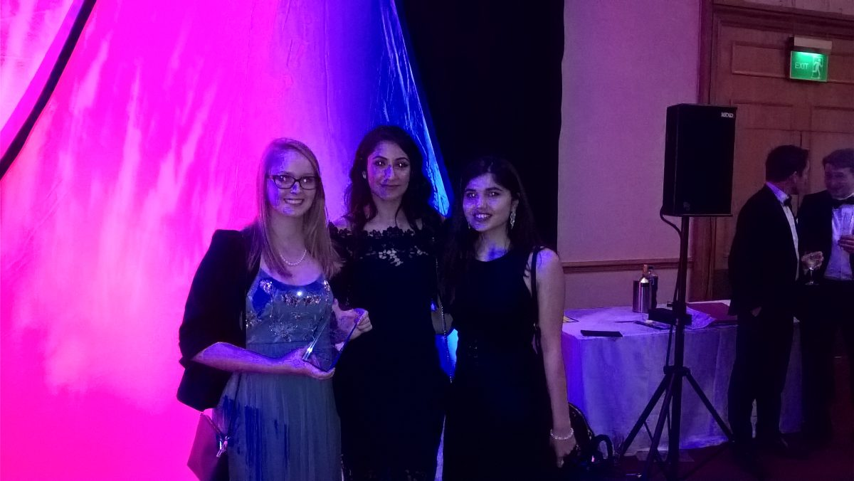 Bristol Law School success at the Bristol Law Society Awards