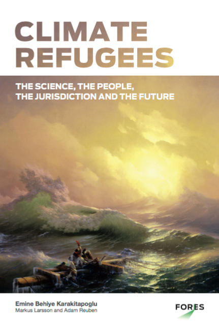 Guest Talk: Adam Reuben – Climate Refugees: The Science, the People, the Jurisprudence and the Future