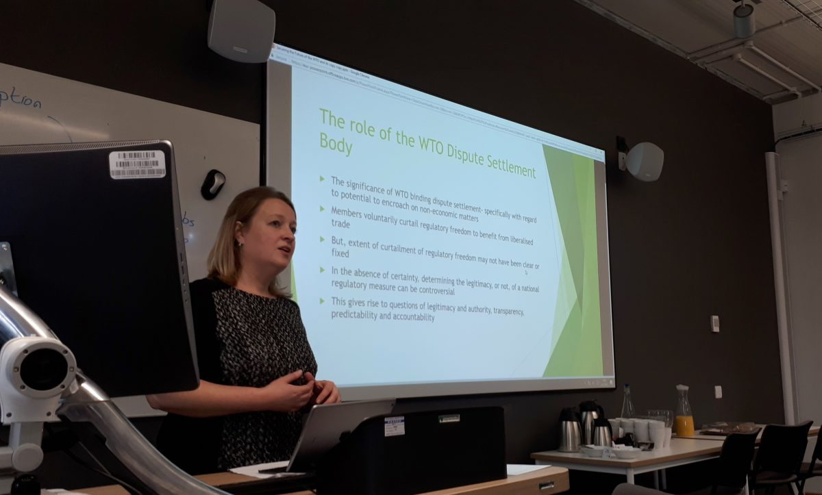 Guest Talk – Professor Emily Reid: Securing the Future of the World Trade Organisation