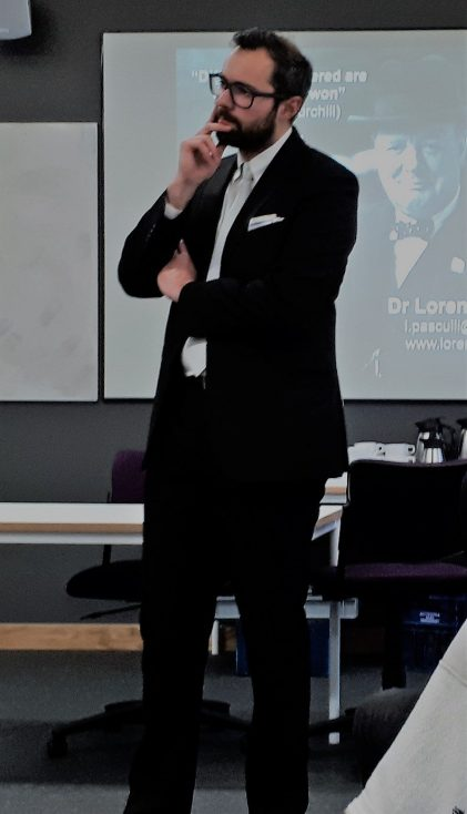 Guest Talk – Dr Lorenzo Pasculli: The Impact of Brexit on Integrity and Corruption: Local and Global Challenges