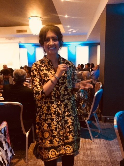 Dr Zainab Khan wins at the Bristol Diversity Awards 2018