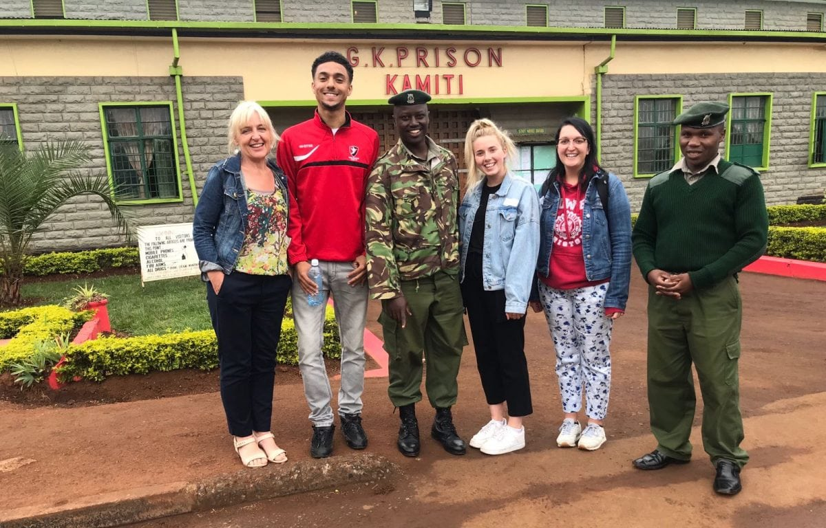 Voluntary work through UWE Bristol helps inmates in Kenya get a law degree