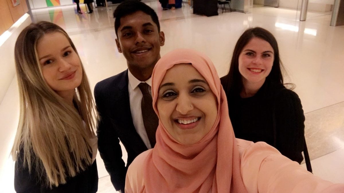 Bristol Law School students attend annual Eid on the Wharf party