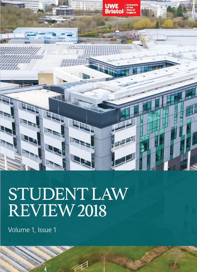 Bristol Law School launch inaugural UWE BristolStudent Law Review (UWESLR)