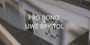 Pro Bono at UWE Bristol