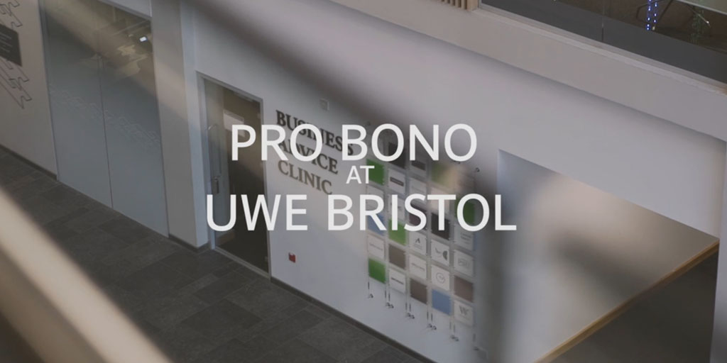 Pro Bono at Bristol Law School: Video