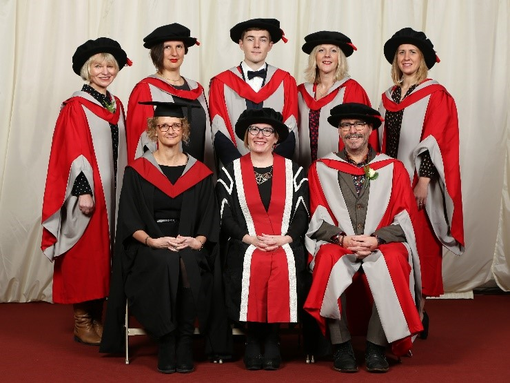 A floppy hat, a sense of occasion and the delights of the UWE Education Doctoral (EdD) Programme