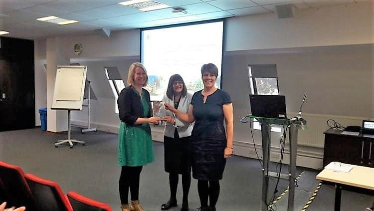 Laura Fogg-Rogers scoops award for science teaching project