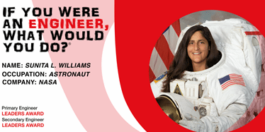 Leaders Awards launch with online interview with NASA astronaut Suni Williams
