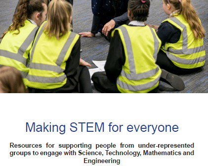 Making STEM for everyone – a new practitioner resource