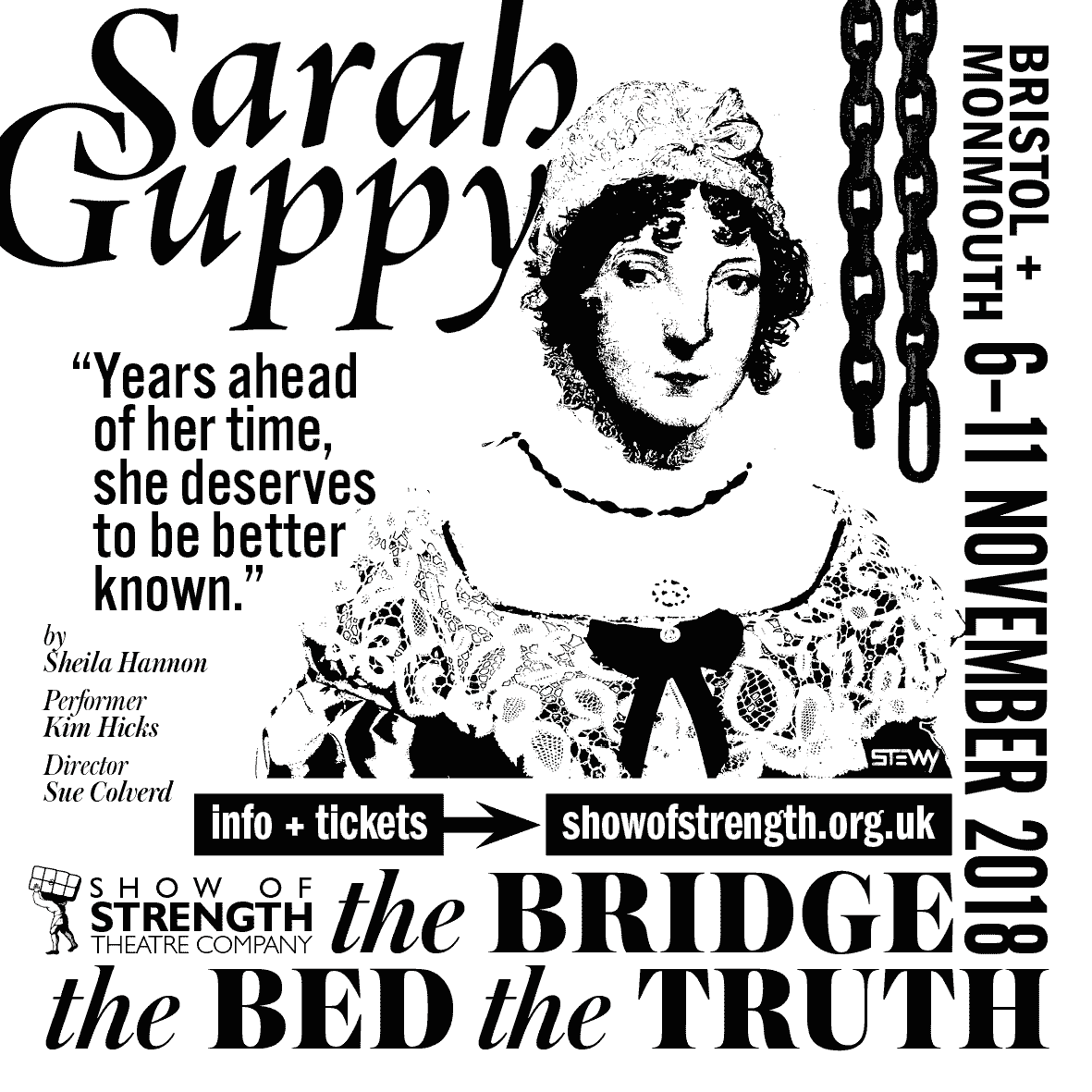 Sarah Guppy: The Bridge, The Bed, The Truth opens to great reviews
