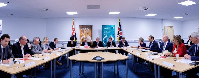 First meeting of new Board of Trade held at Bristol Robotics Laboratory