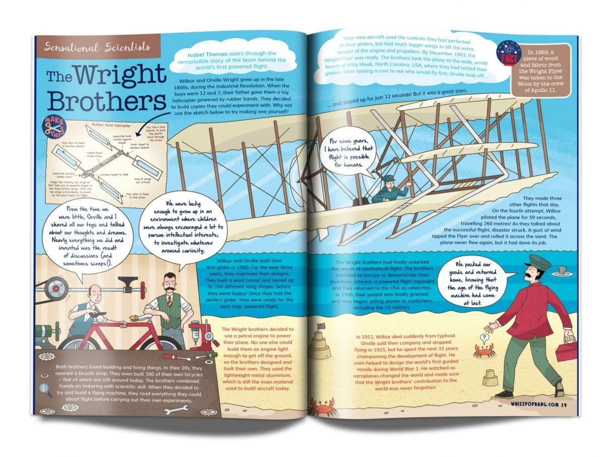 Whizz Pop Bang magazine and new resources for schools