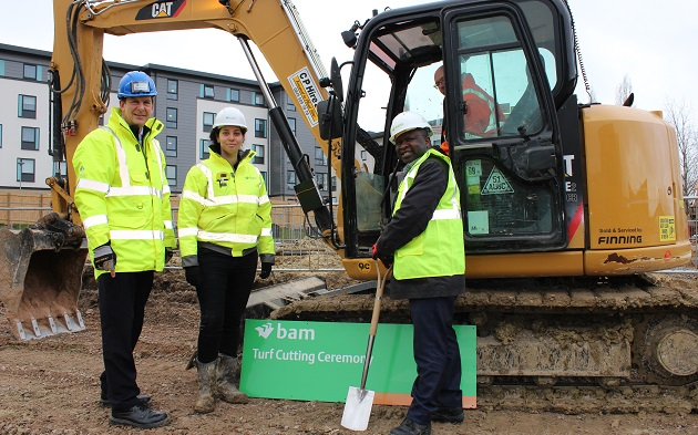 Turf cutting ceremony marks construction of new engineering building