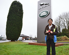 Lottie Visits Jaguar Land Rover (and sees it all!)