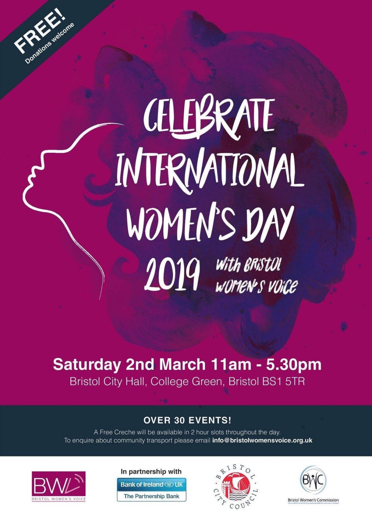 See Sarah Guppy and more for International Women's Day