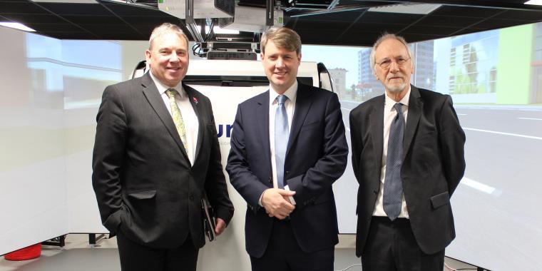 Universities Minister tours enterprise zone and robotics lab on visit to UWE Bristol