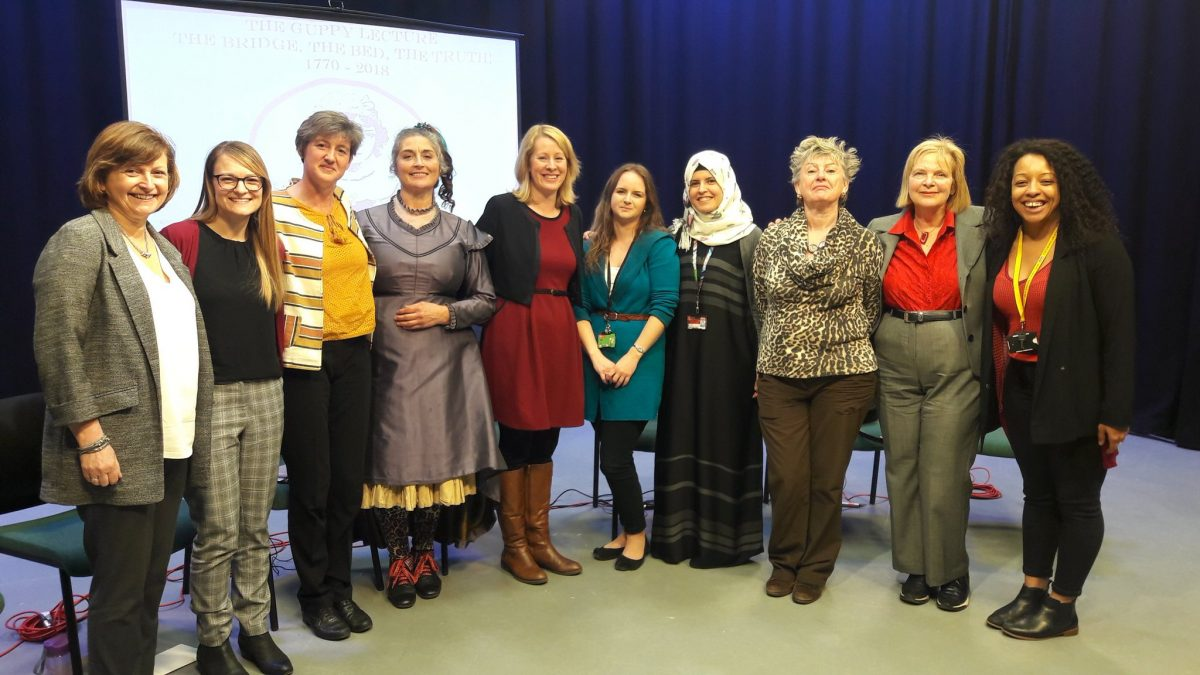 Sarah Guppy show and women in STEM panel discussion recorded for schools