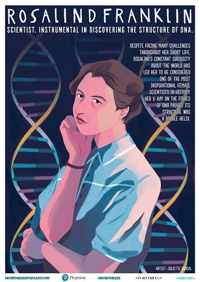 Free posters celebrating female STEM role models