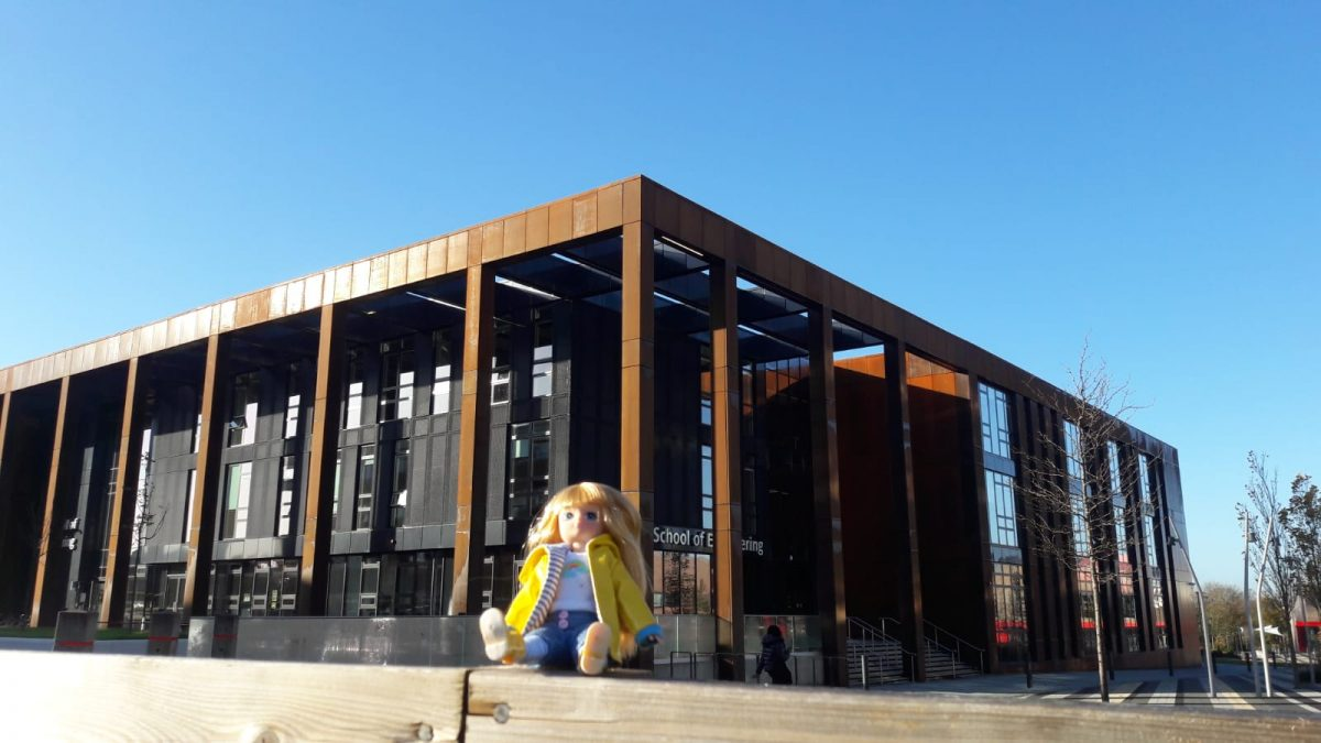 Lottie tours new state-of-the-art Engineering Building