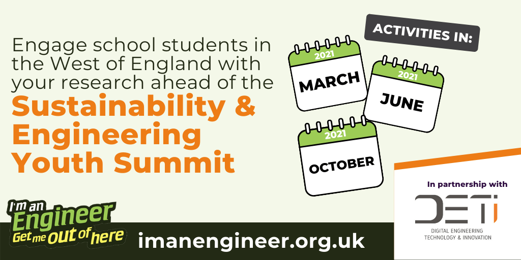 Connecting local students and engineers with I'm an Engineer, Get me out of here!