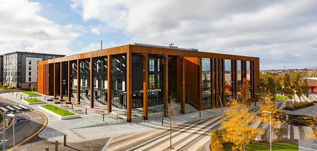 """School of Engineering building awarded """"Excellent"""" BREEAM rating for sustainability"""
