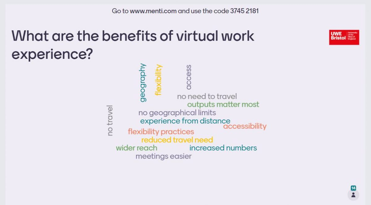 How to deliver effective engineering work experience virtually: a West of England Knowledge Share