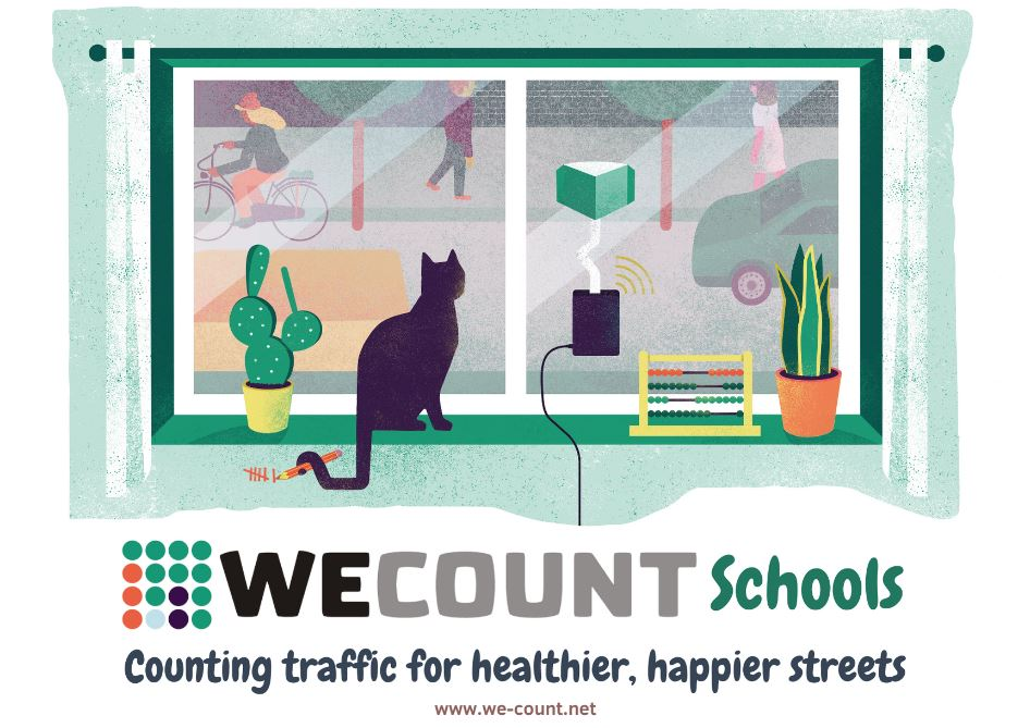 Empowering WECA pupils with data for sustainable school streets