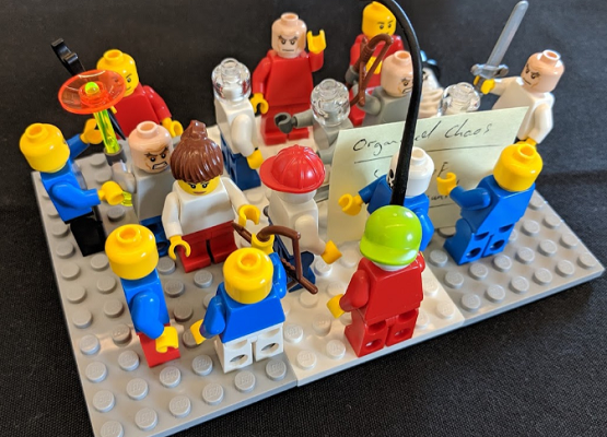 A practice perspective: Facilitating a LEGO® SERIOUS PLAY® workshop