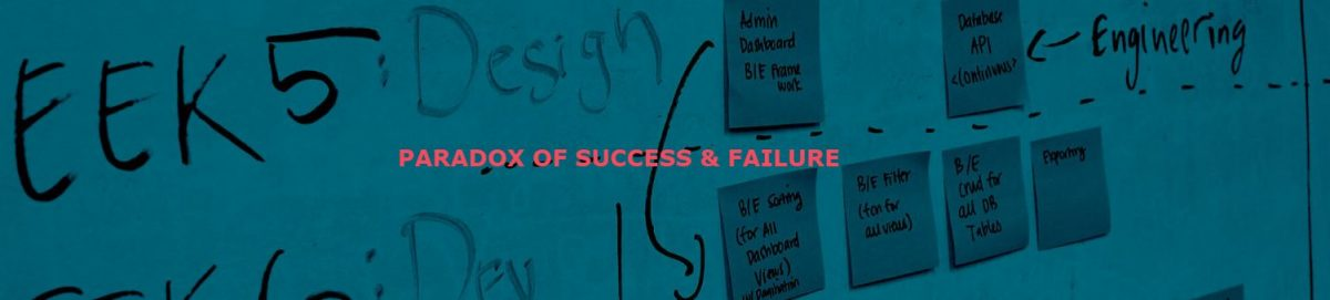 Paradox of success and failure