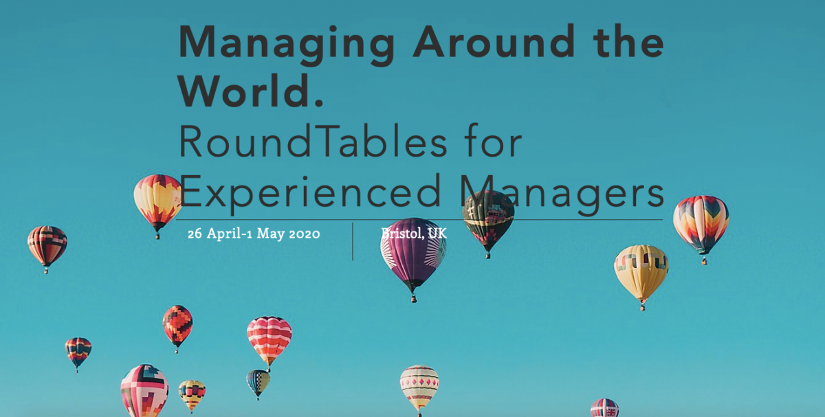 Managing Around the World: RoundTables for Experienced Managers