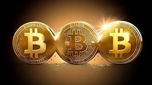 3 Bitcoins in a row