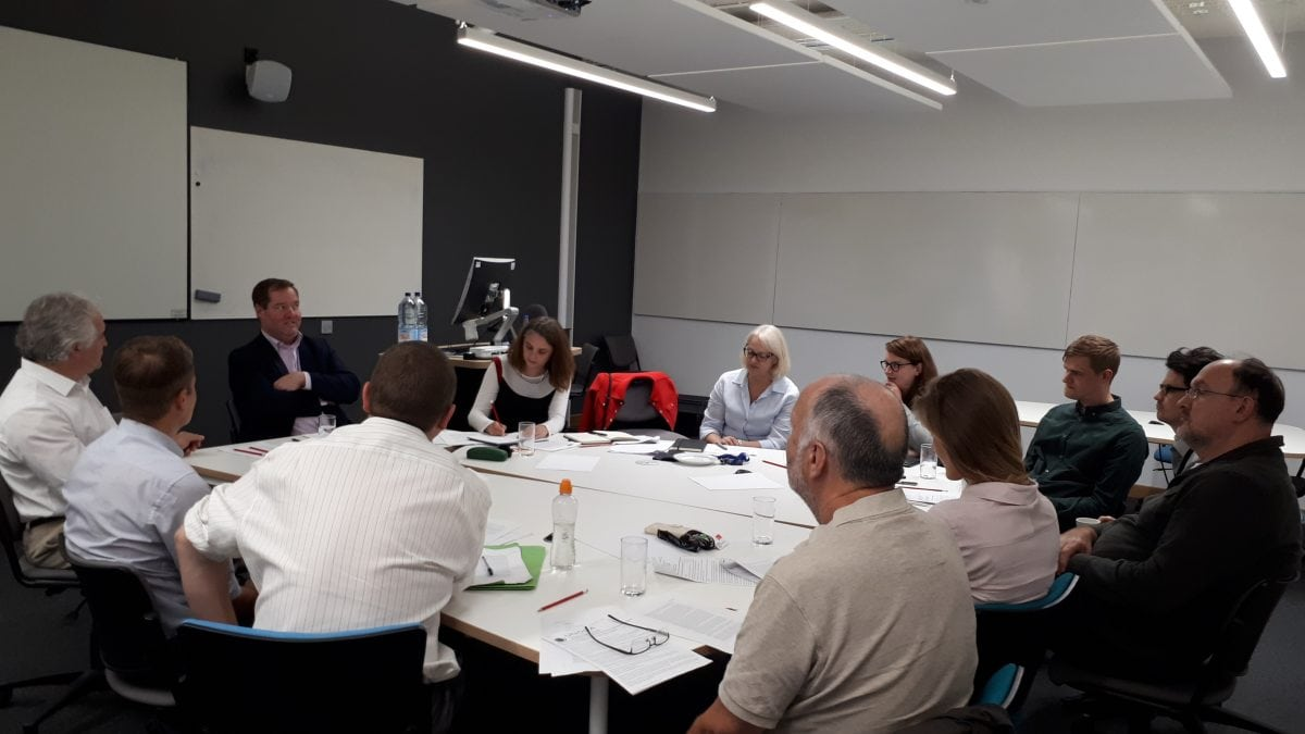 Treaty on the Prohibition of Nuclear Weapons workshop with Professor Dan Joyner at UWE Bristol.